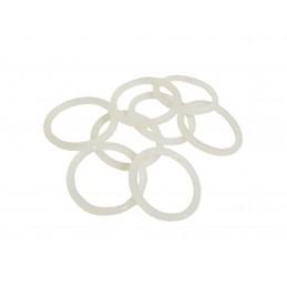 Упаковка силиконовых прокладок 100 шт кольцо на американку под пайку 32 41мм*4мм J.G. - 1