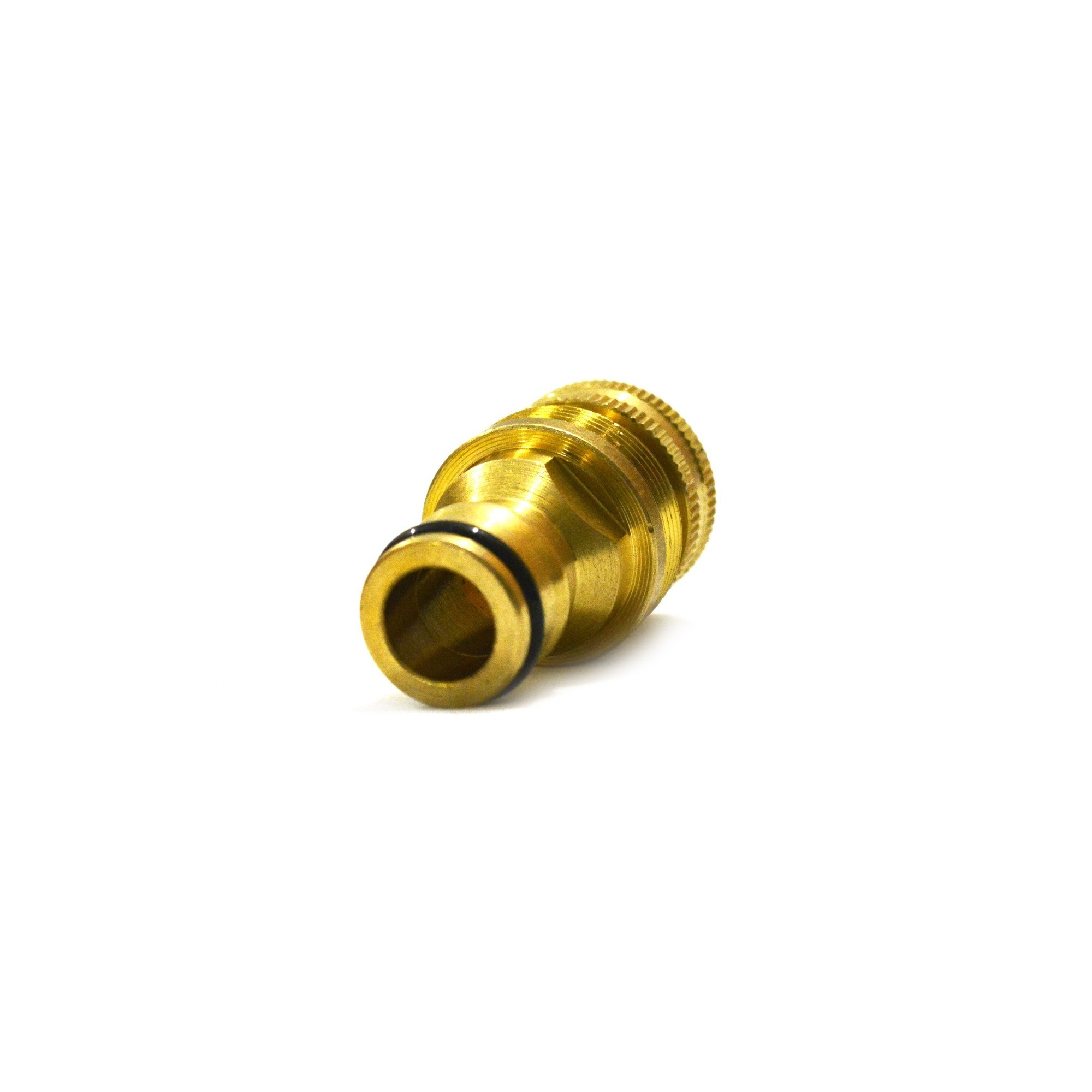 Адаптер универсальный М22вн*1/2вн латунь QC-08  - 1