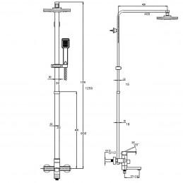 Душевая система Zegor LEB16-A123 Zegor - 4