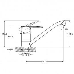 Смеситель для кухни Zegor PDF4-A183 Zegor - 4