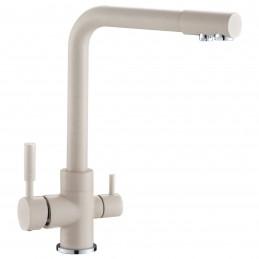 Смеситель c выходом для питьевой воды Zegor SAF18-A092KS бежевый Zegor - 1
