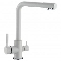 Смеситель c выходом для питьевой воды Zegor SAF18-A092KW белый Zegor - 1
