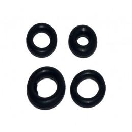 Упаковка резиновых прокладок 100 шт кольцо 14мм*9.2мм*2.4мм J.G. - 1