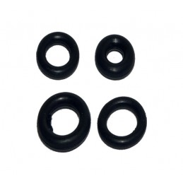 Упаковка резиновых прокладок 100 шт кольцо 14мм*10мм*2мм J.G. - 1