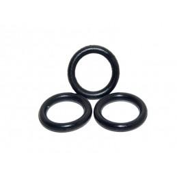 Упаковка резиновых прокладок 100 шт кольцо на отечественный гусак 16мм*10.4мм*2.8мм J.G. - 1