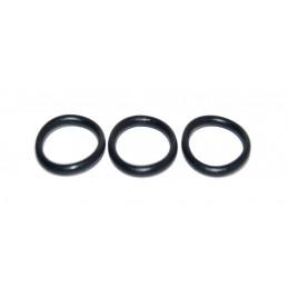 Упаковка резиновых прокладок 100 шт кольцо на импортный гусак 18мм*12,4мм*2.8мм J.G. - 1