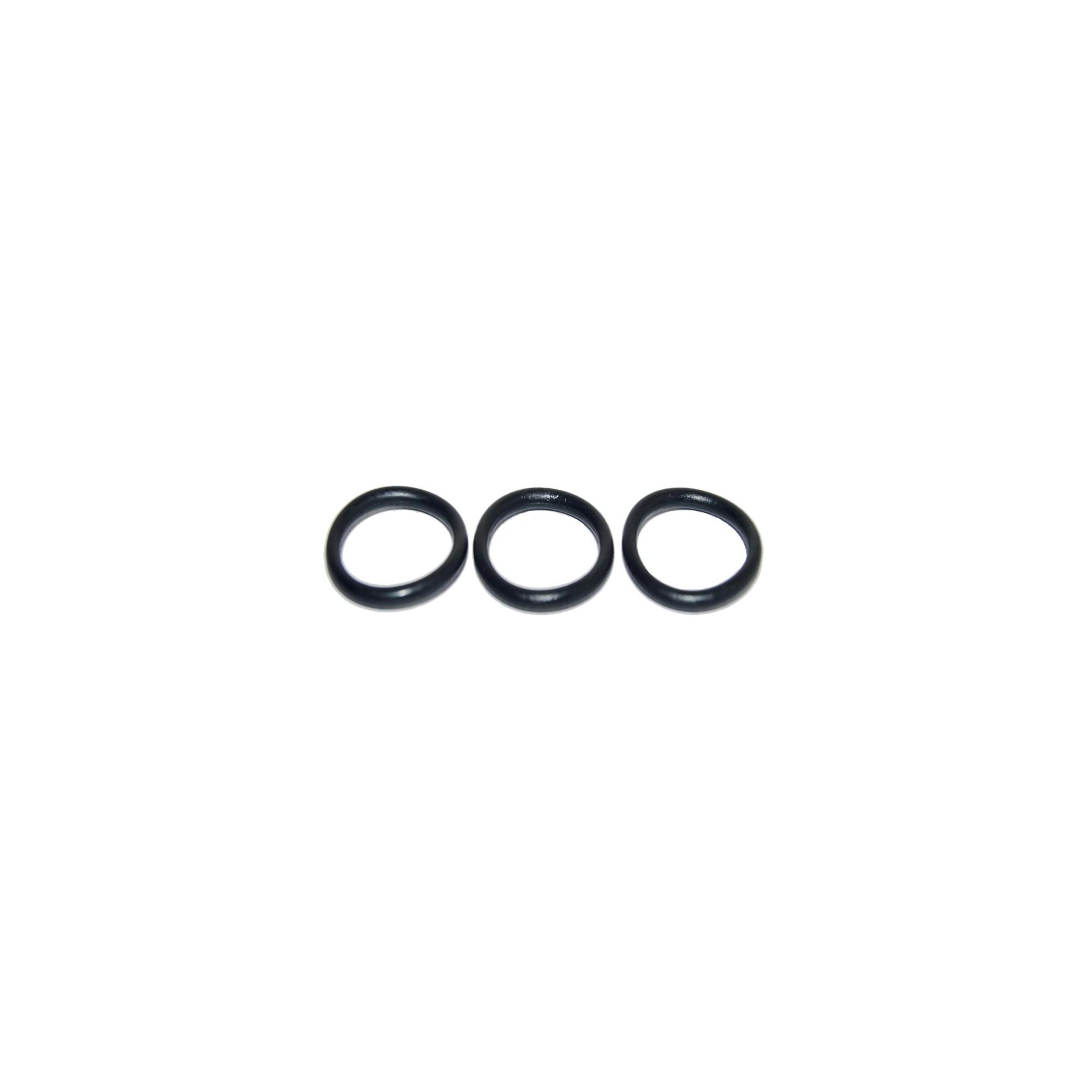 Упаковка резиновых прокладок 100 шт кольцо на импортный гусак плоский 18мм*14мм*2мм J.G. - 1