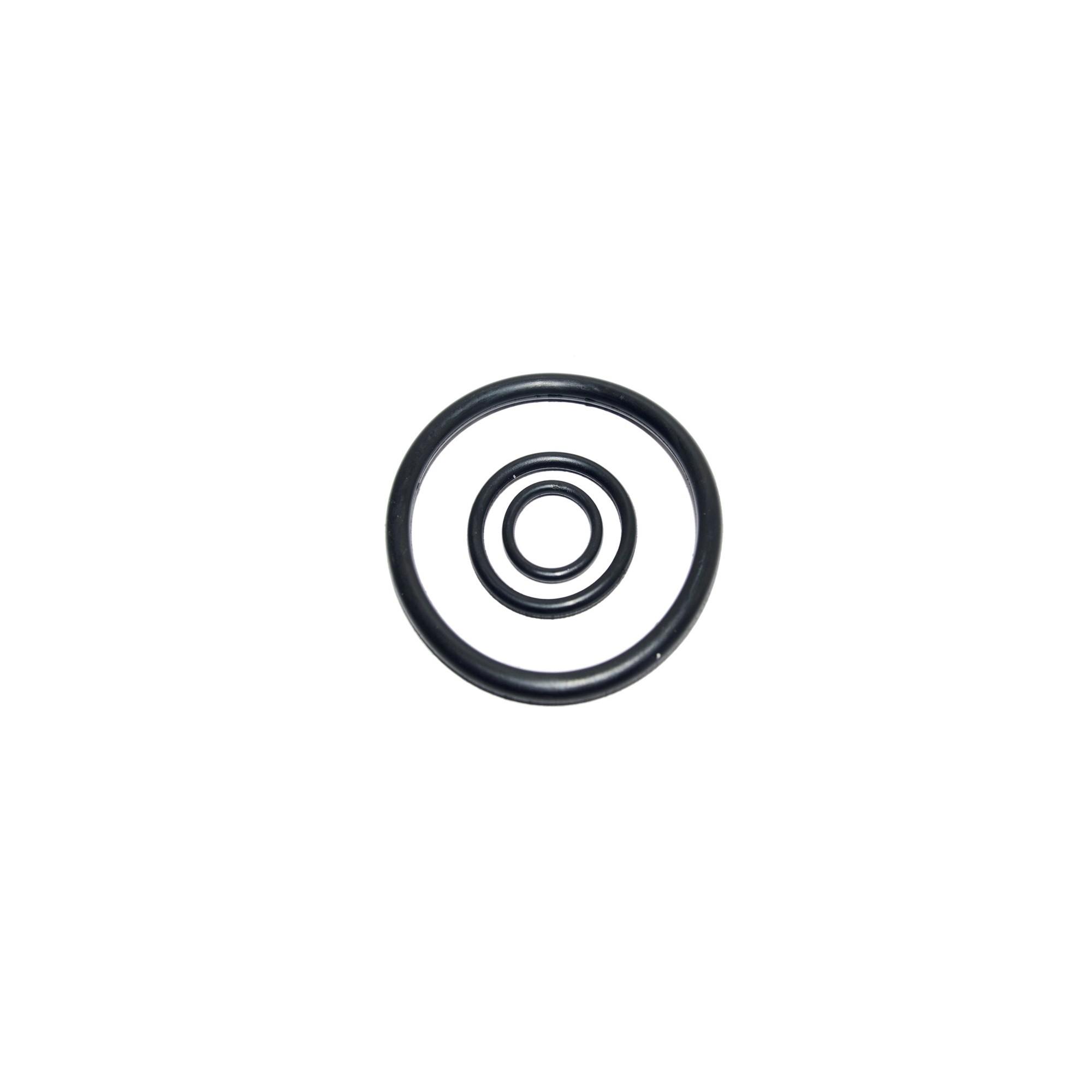 Упаковка резиновых прокладок 100 шт кольцо на американку 1/2 20мм*15мм*2.5мм J.G. - 1