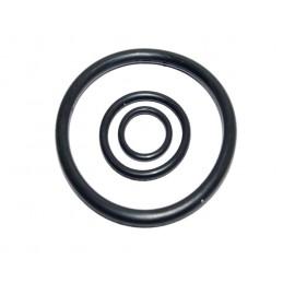 """Упаковка резиновых прокладок 100 шт кольцо на американку 2"""" 65мм*55мм*5мм J.G. - 1"""