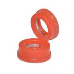 Упаковка резиновых прокладок 100 шт 1/2 торцевая на буксу керамику 15.5мм, заводская J.G. - 1