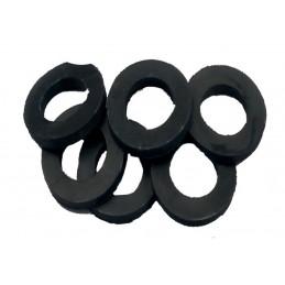"""Упаковка резиновых прокладок 100 шт 1"""" 30*20*2, заводская J.G. - 1"""