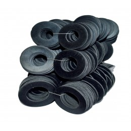 Упаковка резиновых прокладок 100 шт 1/2 35мм*20мм*2мм листовая J.G. - 1
