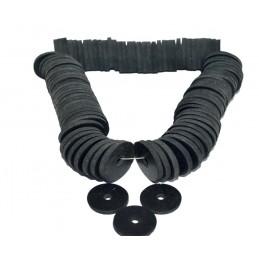 Упаковка резиновых прокладок 100 шт 3/4 таблетка вентиля, листовая J.G. - 1