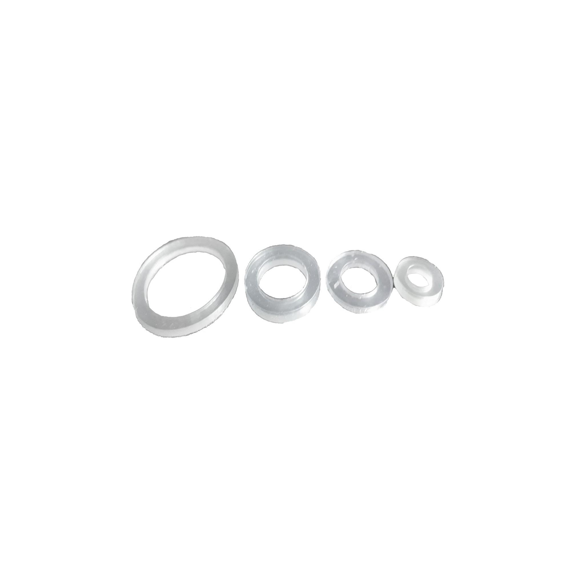 Упаковка силиконовых прокладок 100 шт 1/2 тонкий ПВХ J.G. - 1