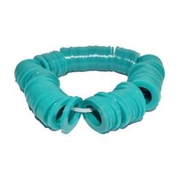 Упаковка резиновых прокладок 100 шт 3/4 литая, ПВХ зеленая для стиральной машины J.G. - 1