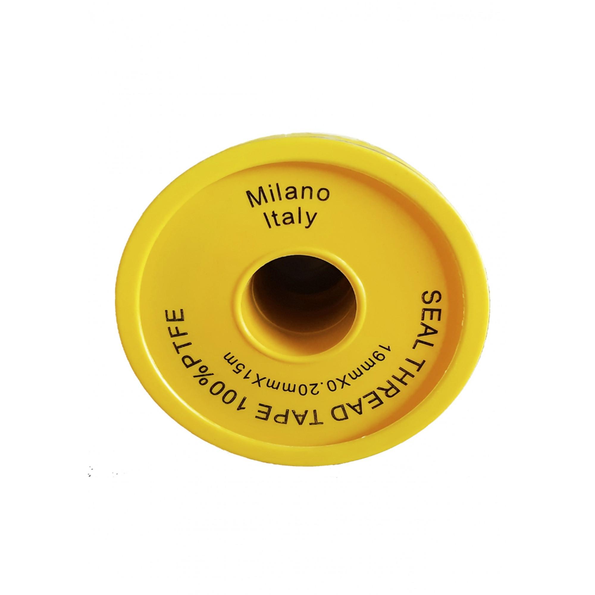 Фум лента желтая PROFI Milano 19*0.2*15м  - 1