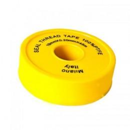 Фум лента желтая PROFI Milano 19*0.2*45м  - 1