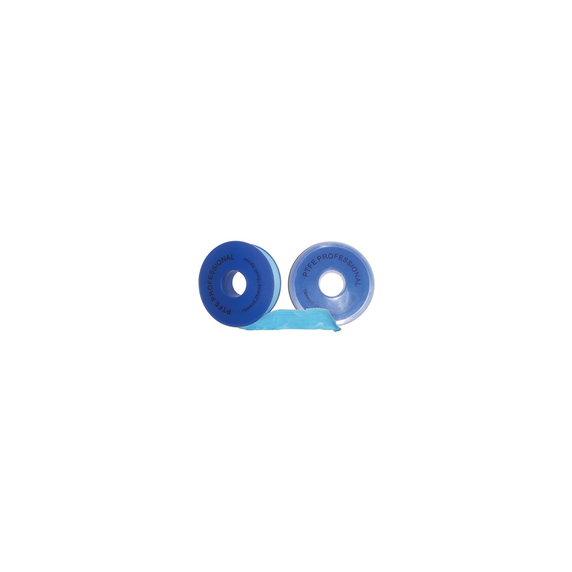 Фум лента синяя PROFI 19*0,25*15м, 0,3g*cm3 ANGO - 1