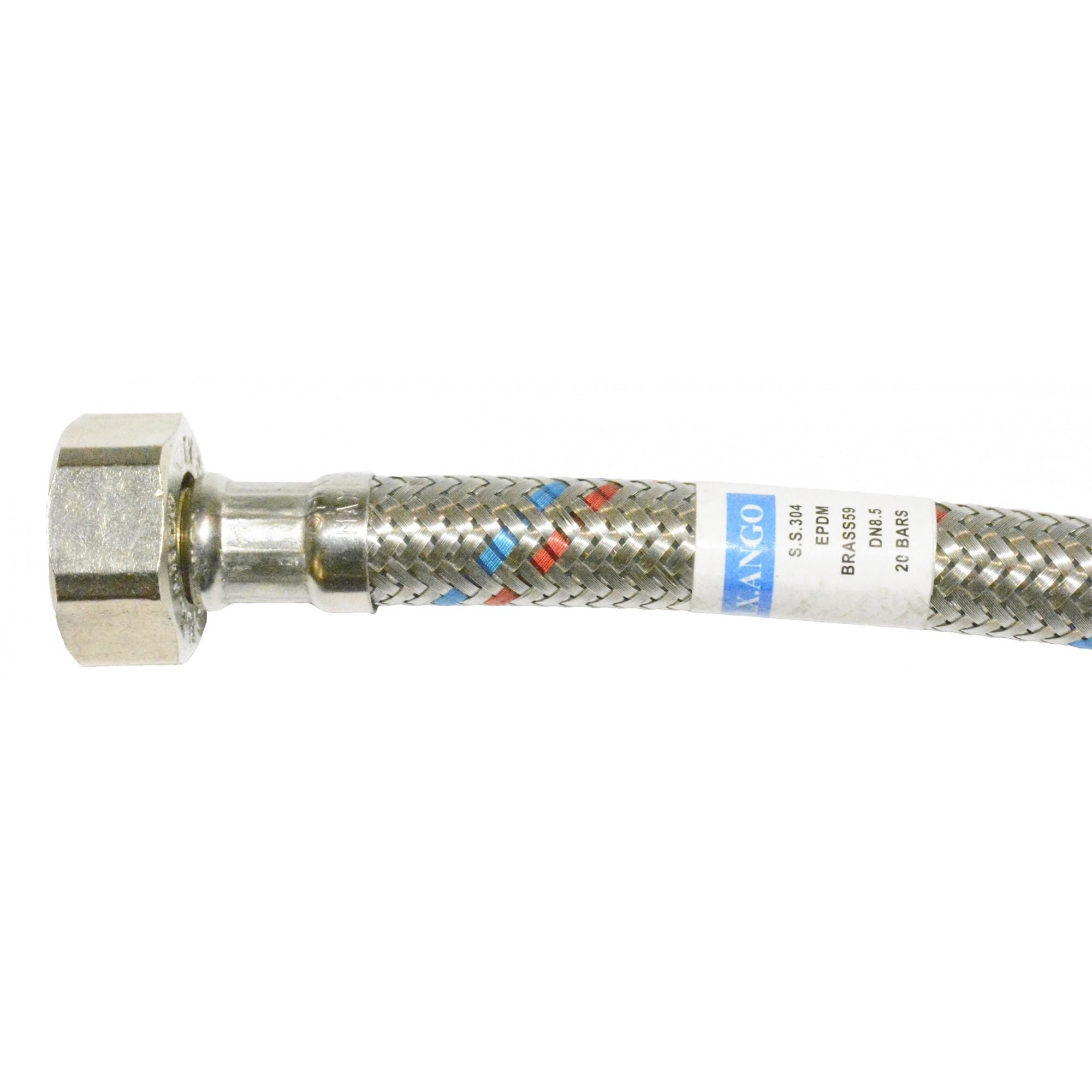 Шланг для воды в нержавеющей оплетке ANGO 40см НВ ANGO - 1