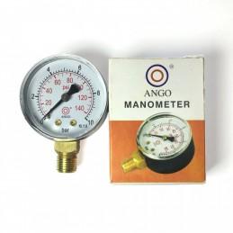 Манометр ANGO 1/4 0-4 bar, нижнее подключение (673) ANGO - 1