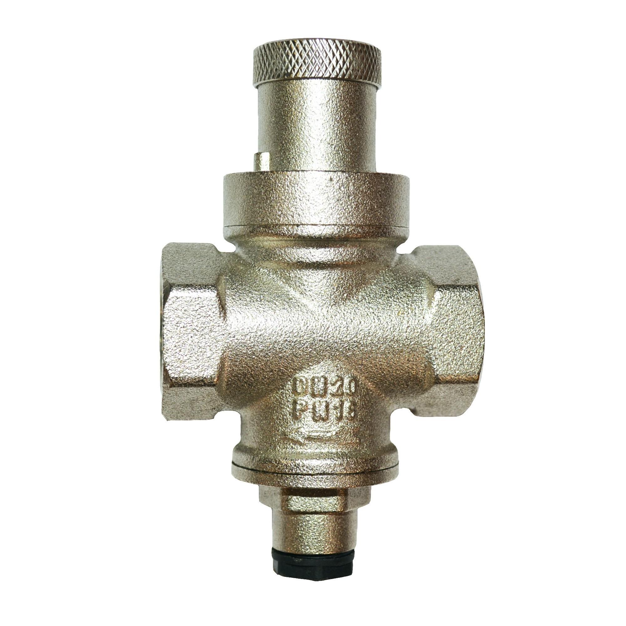 Редуктор давления 3/4 для водопровода под монометр J.G. 501 J.G. - 1