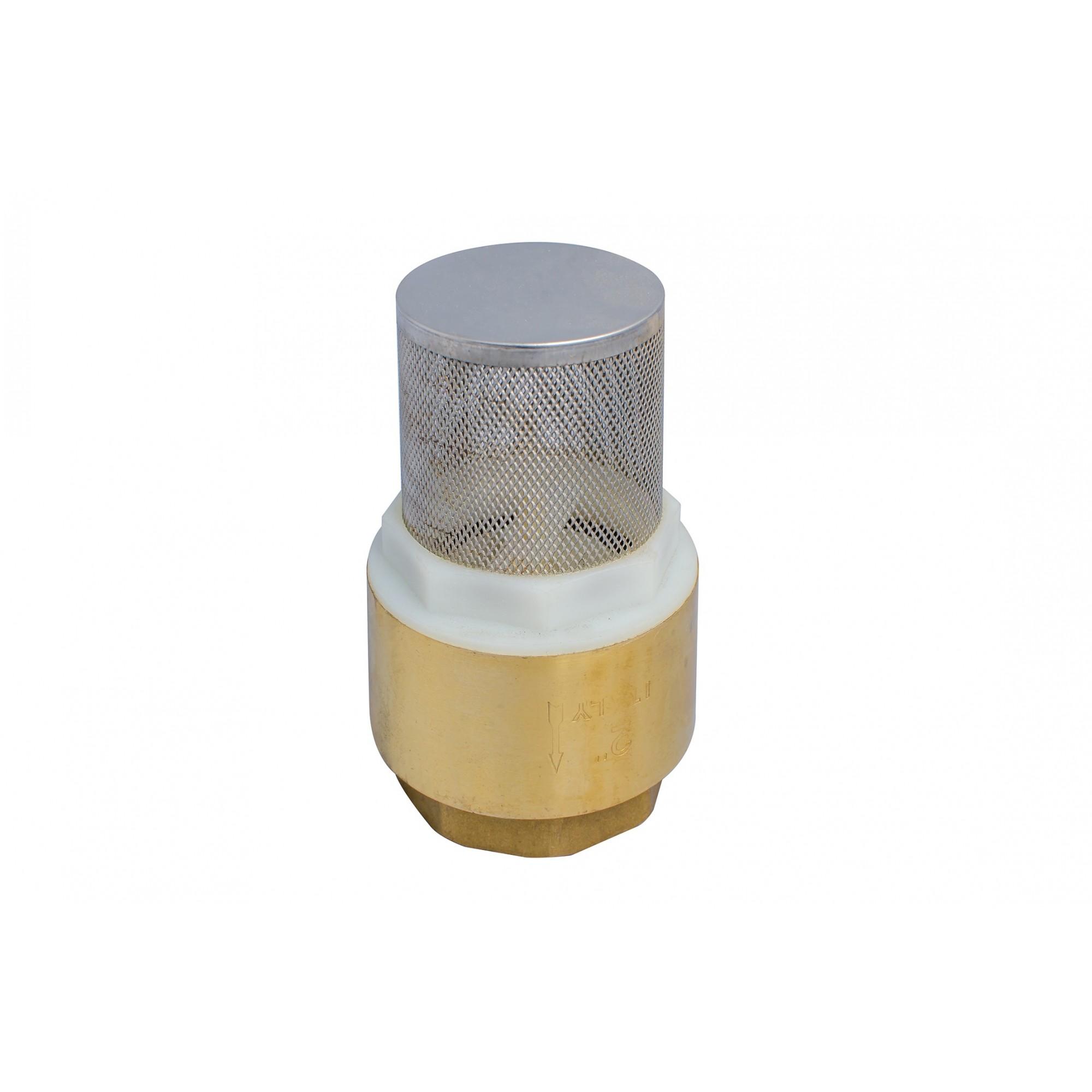 Обратный клапан 1/2 с сеткой пластиковый шток J.G. J.G. - 1