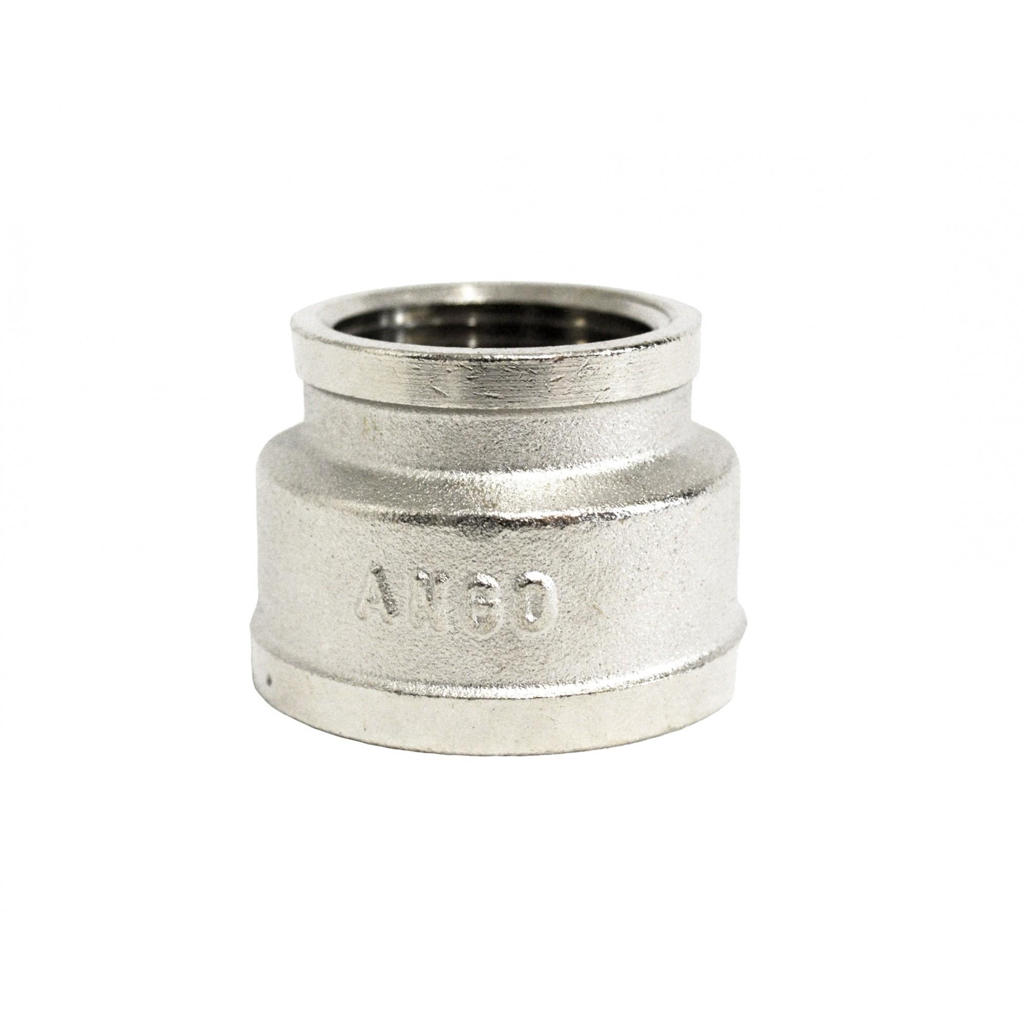 Муфта 1в*1 1/4в никелированная ANGO ANGO - 1
