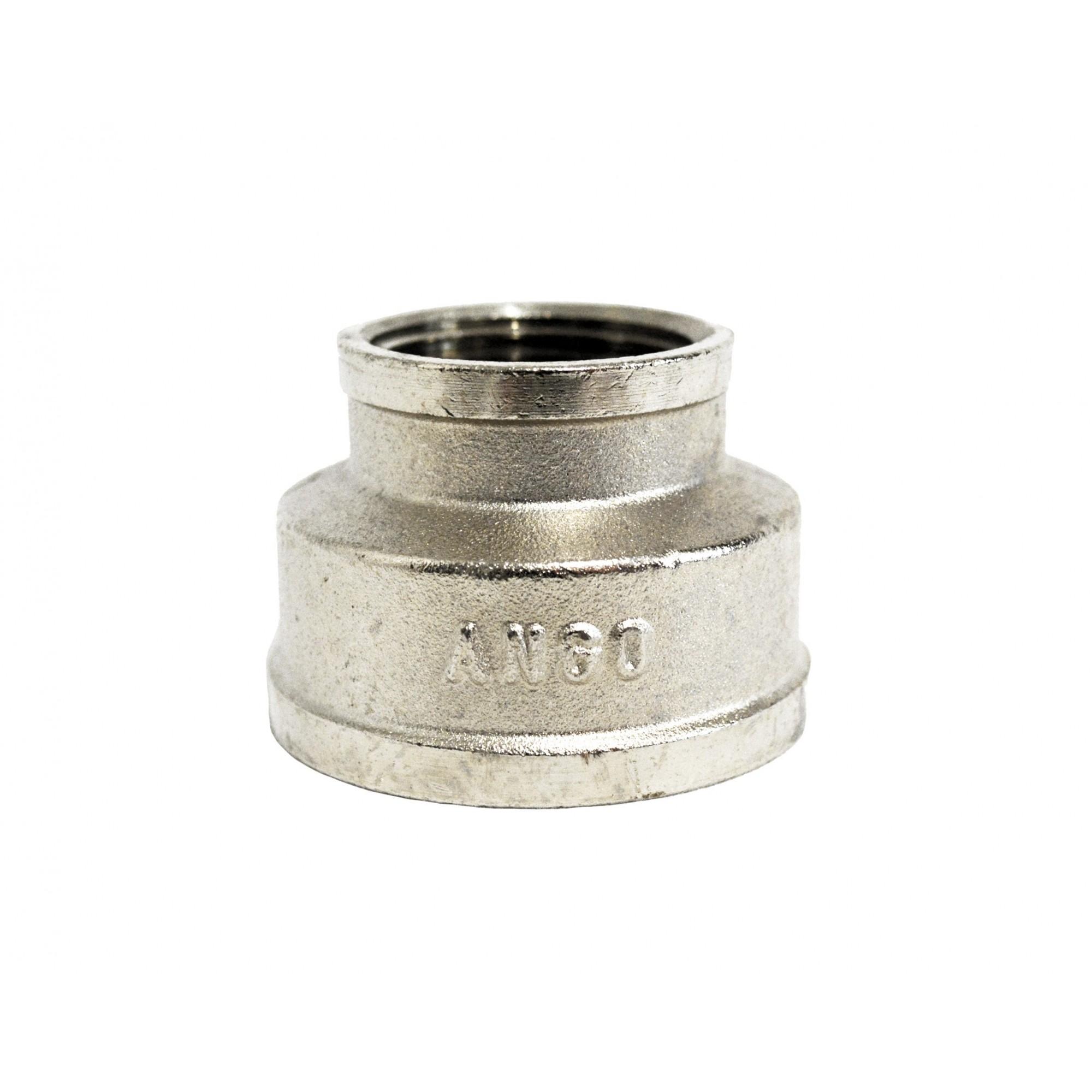 Муфта 1 1/2в*1в никелированная ANGO ANGO - 1