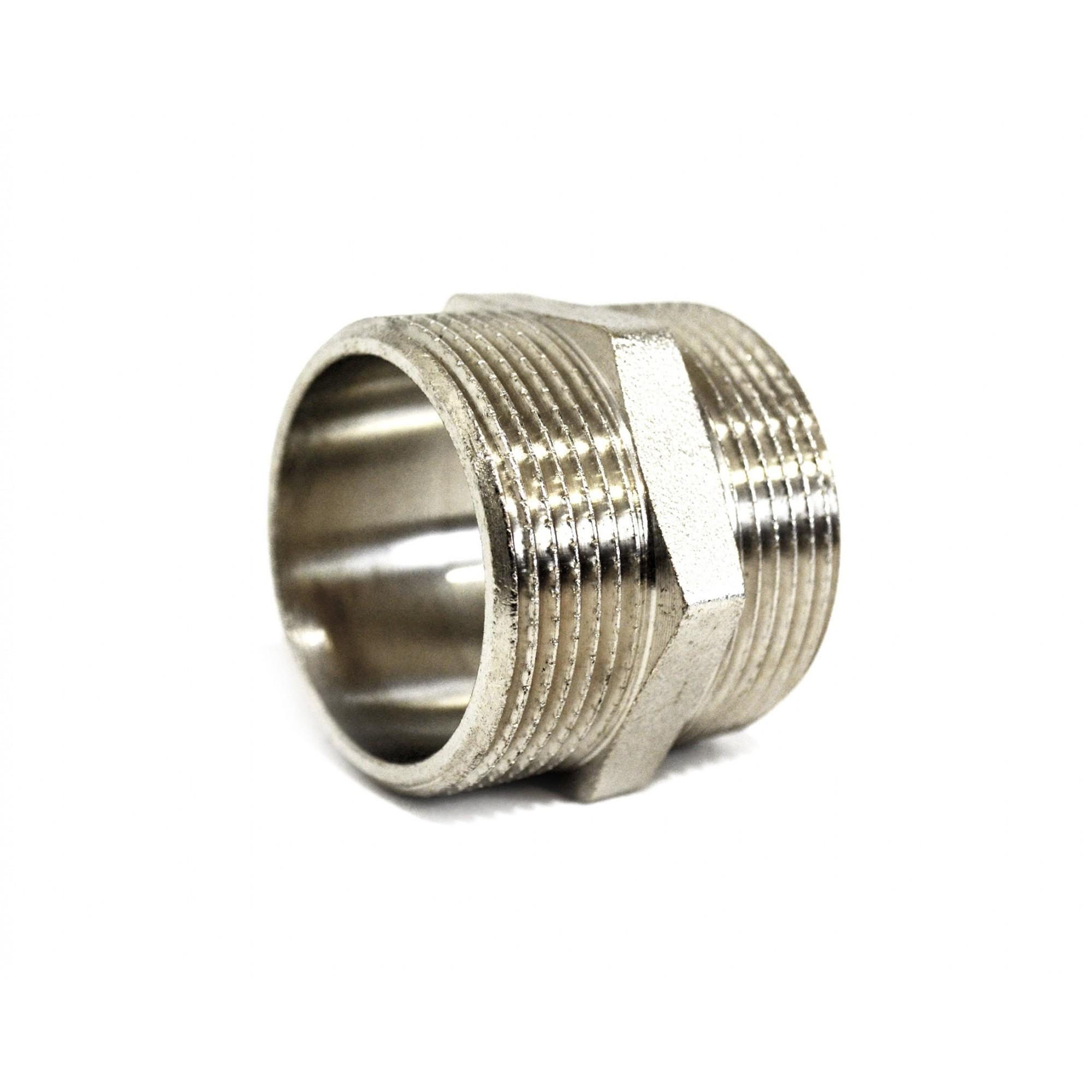 Ниппель 1 1/2нн никелированная ANGO ANGO - 1