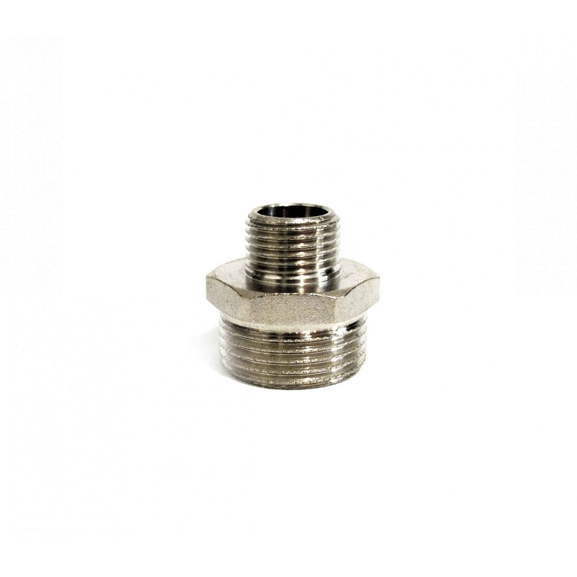 Ниппель 1/2н*1н никелированный ANGO ANGO - 1