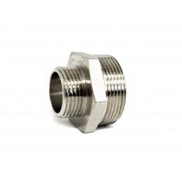 Ниппель 1н*1 1/2н никелированный ANGO ANGO - 2
