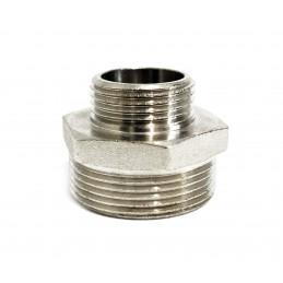 Ниппель 1н*1 1/4н никелированный ANGO ANGO - 2