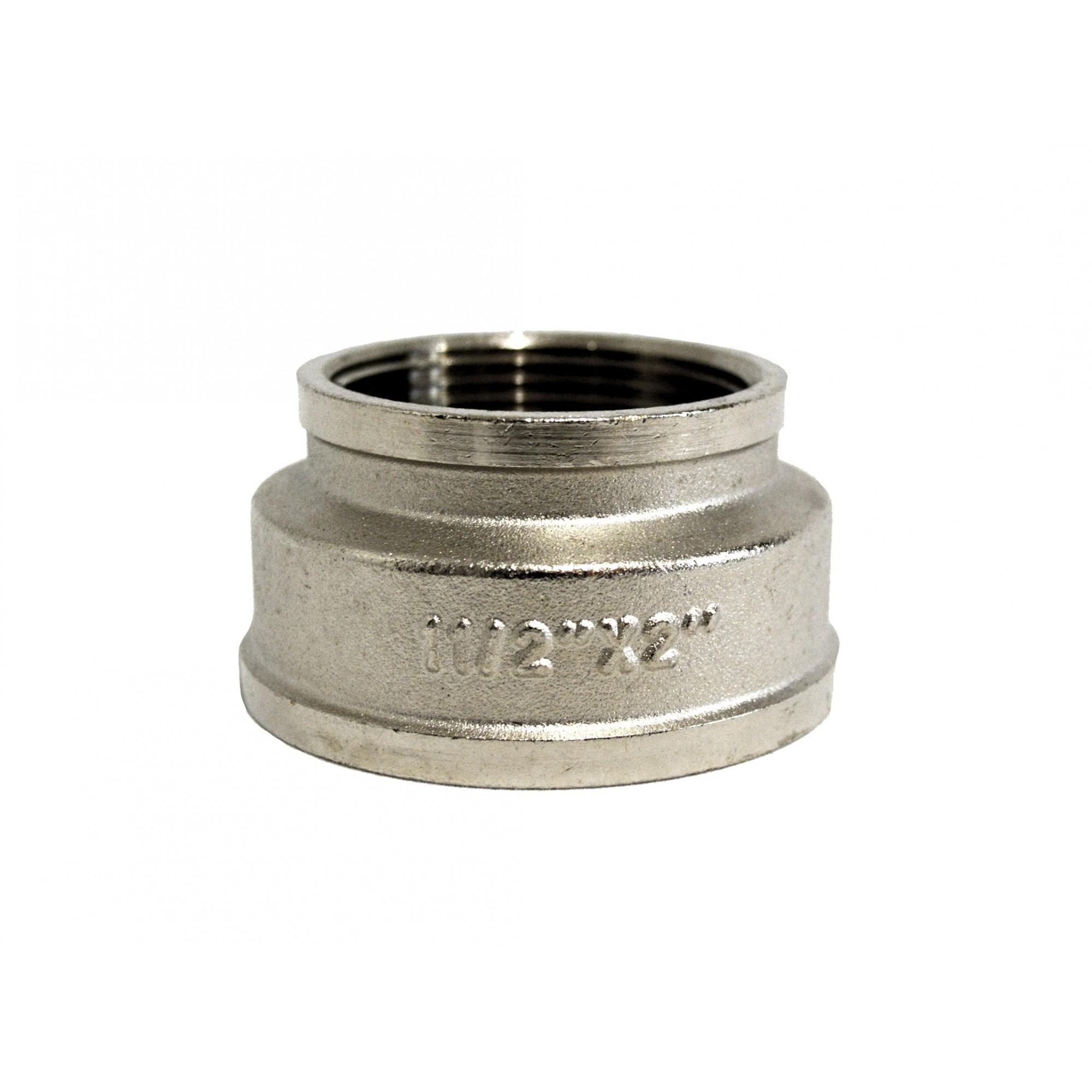 Муфта 2в*1 1/2в никелированная ANGO ANGO - 1