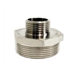Ниппель 1н*2н никелированный ANGO ANGO - 2
