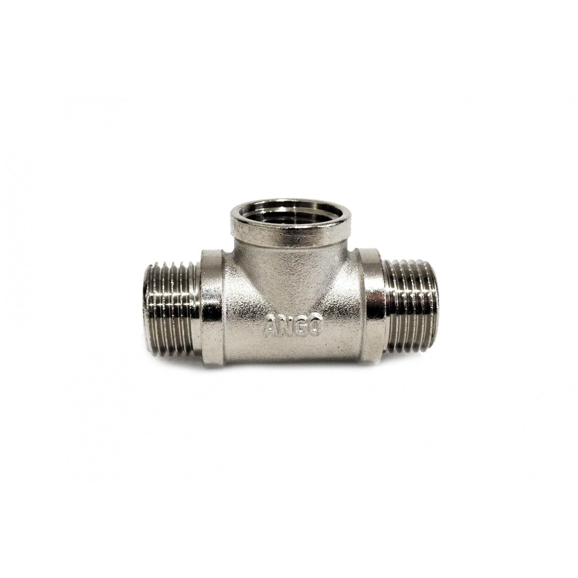 Тройник 1/2внн никелированный ANGO ANGO - 1