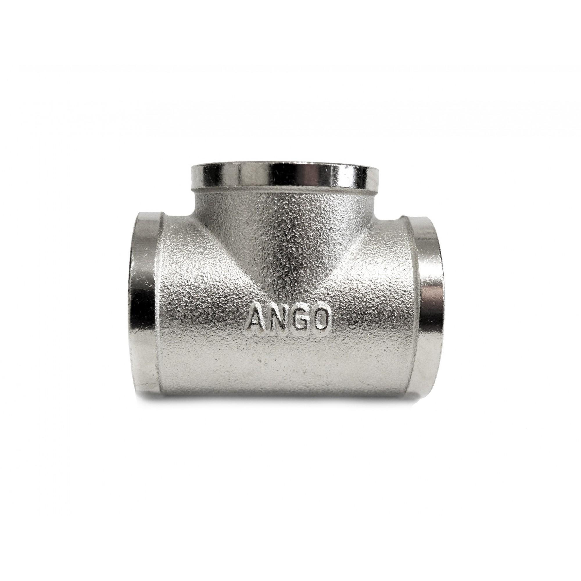 Тройник 1ввв никелированный ANGO ANGO - 1