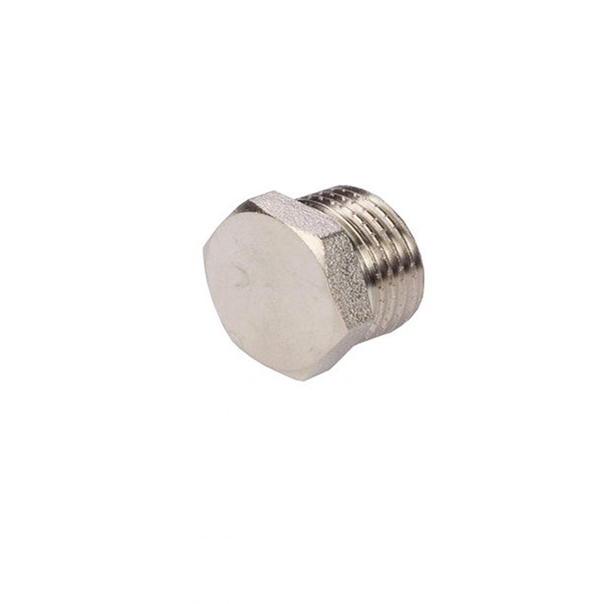 Заглушка 1нар никелированная ANGO ANGO - 1