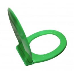 Крышка для унитаза SYDANIT СД 10 полиропилен, цвет зеленый SYDANIT - 5
