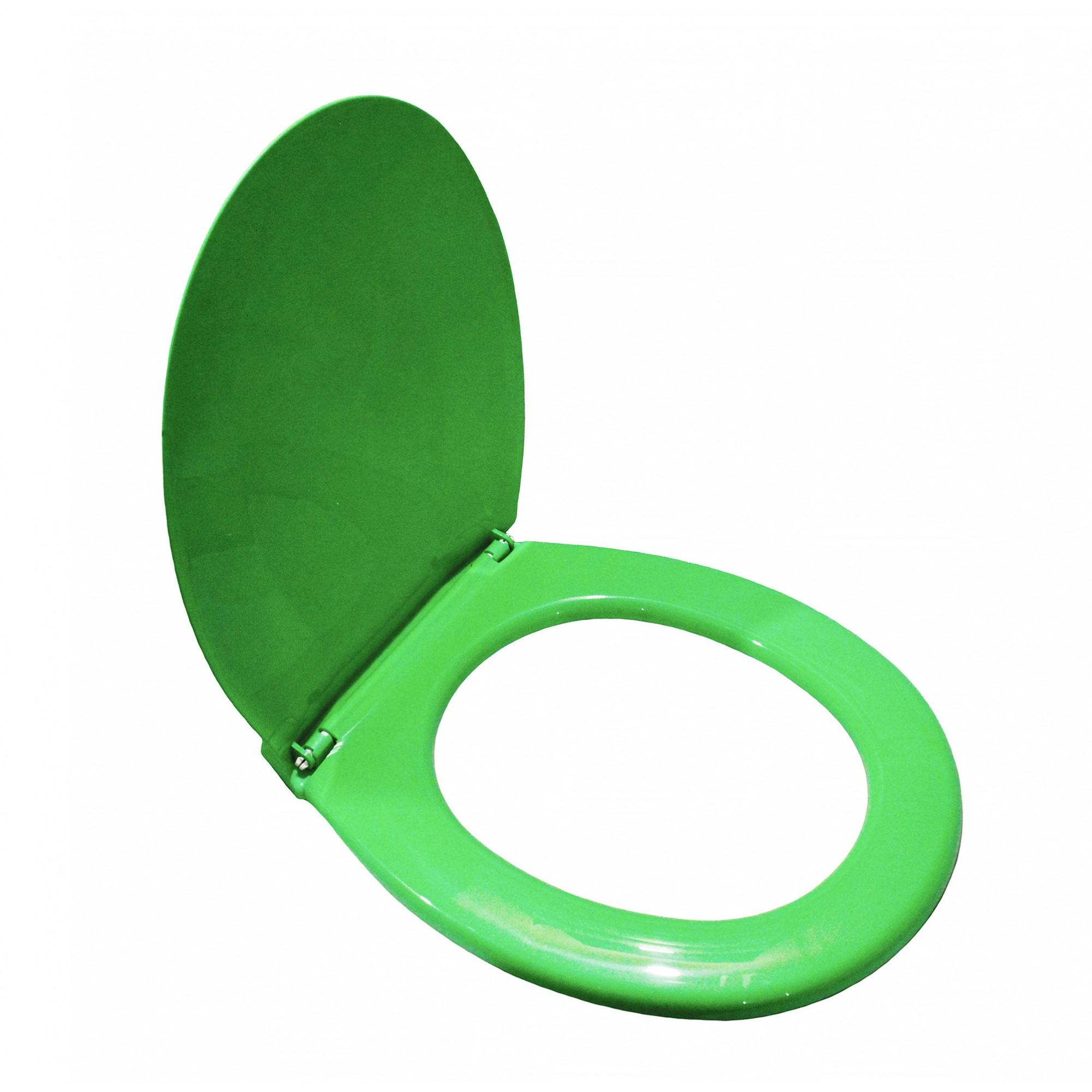 Крышка для унитаза SYDANIT СД 10 полиропилен, цвет зеленый SYDANIT - 6