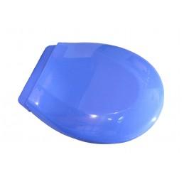 Крышка для унитаза белая SYDANIT СД 21, полиропилен, голубой SYDANIT - 4