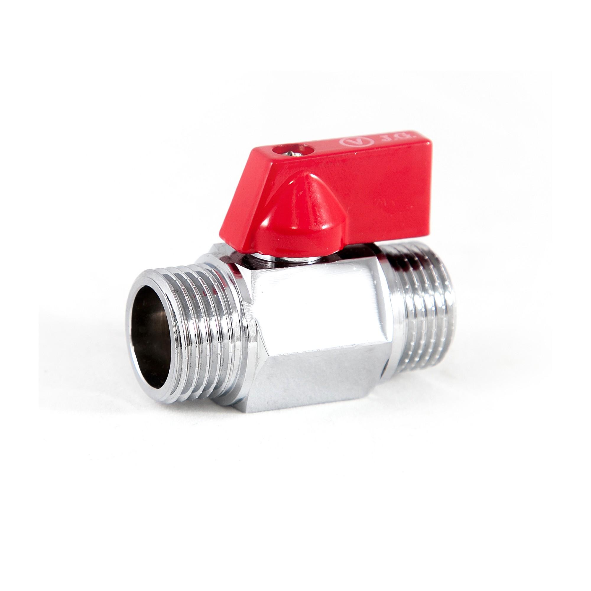Кран шаровый MINI мини приборный 3/4'' нн Valve J.G. J.G. - 1