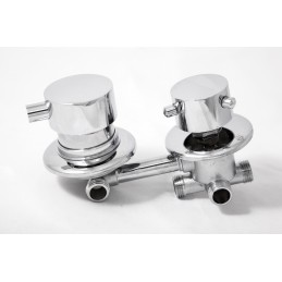 Змішувач для душової кабіни 4 виходи - 120 мм BY-1020 ANGO - 2
