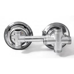 Змішувач для душової кабіни 4 виходи - 120 мм BY-1020 ANGO - 5