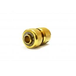 Коннектор для шланга 1/2 латунь QC-01