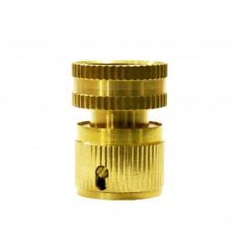 Коннектор 3/4 внутренняя резьба латунь QC-03