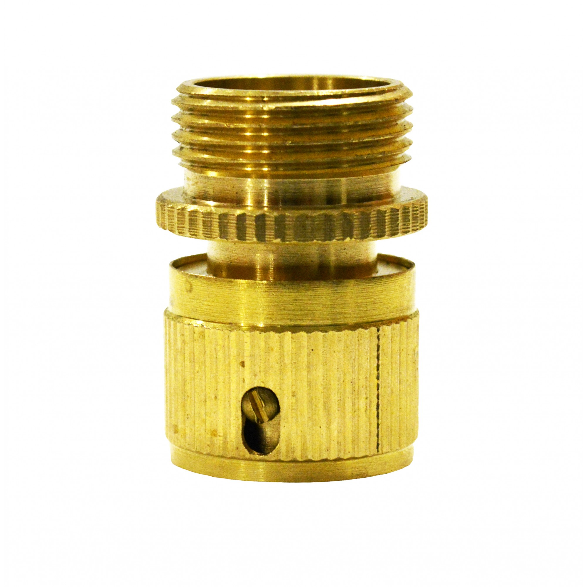 Коннектор 3/4 наружная резьба латунь QC-04