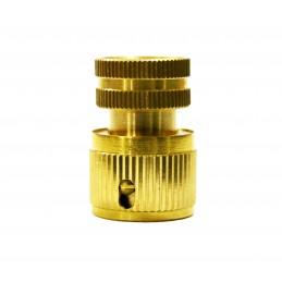 Коннектор 1/2 внутренняя резьба латунь QC-05
