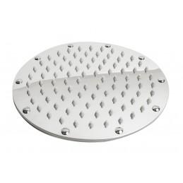 Лейка потолочная, лейка верхний душ, круглая нержавейка разборная Ultra Slim 200мм С-07Е ANGO