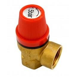 Клапан предохранительный 1,5 bar J.G. J.G.