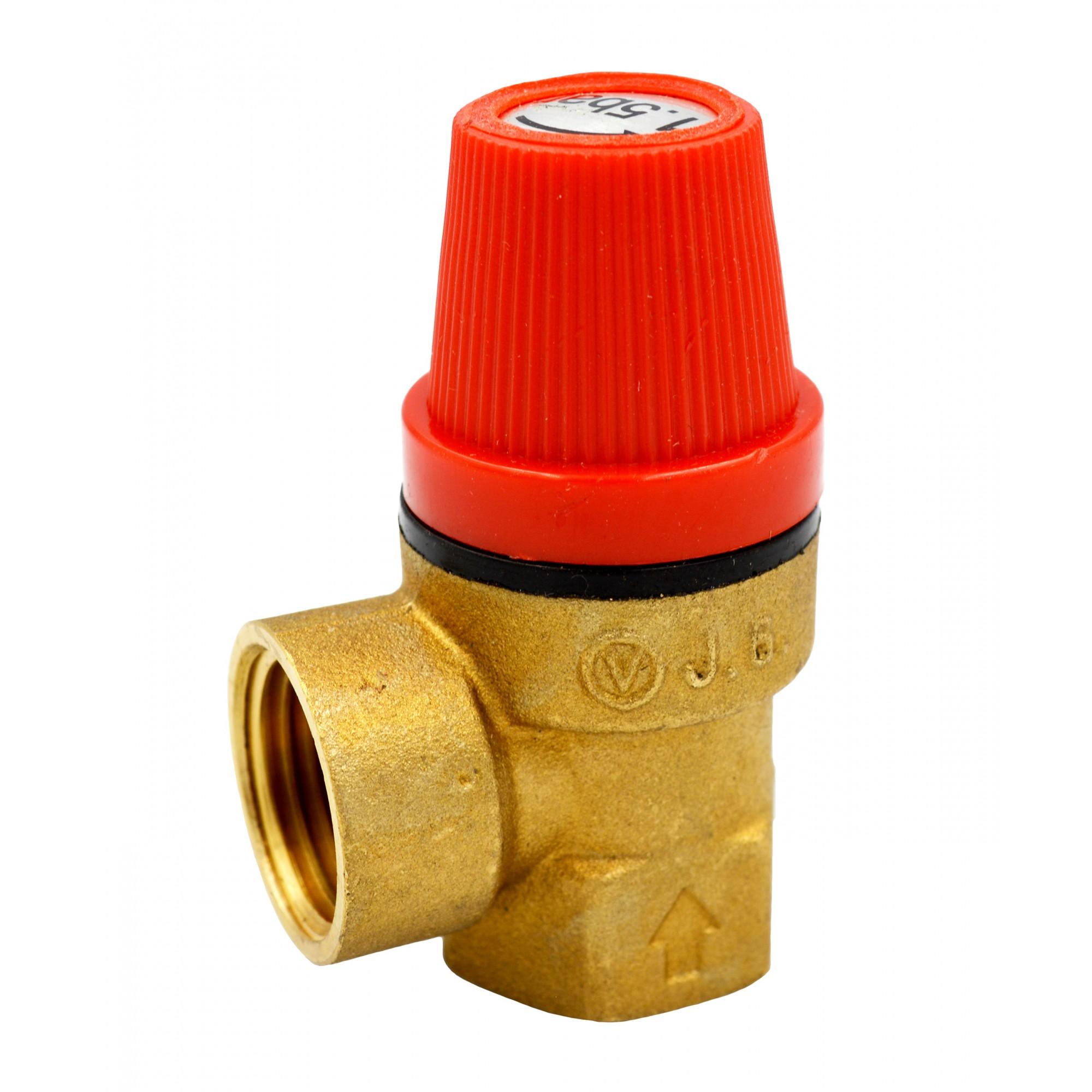 Клапан предохранительный 2,5 bar J.G. J.G.